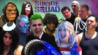 SUICIDE SQUAD PARODY! (NSFW) DC Spoof
