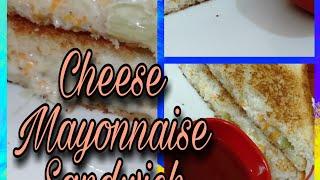 Veg Cheese Mayonnaise Sandwich | Lunchbox ideas | Breakfast & Evening snacks | Quick & Easy Recipe