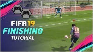 FIFA 19 FINISHING TUTORIAL - THE SECRET TO ALWAYS SCORE GOALS !!! SPECIAL SHOOTING TRICK