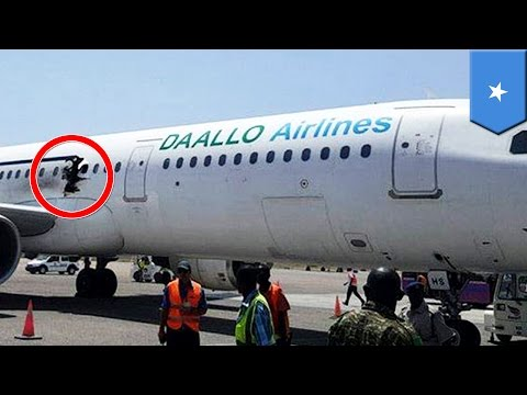 Man sucked out of gaping hole of plane? Explosion on African flight rips cabin open - TomoNews