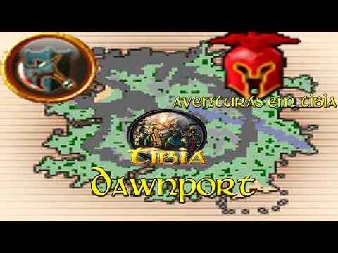 Tibia Eldera Retro Open PvP #1 Dawnport até o Level 8