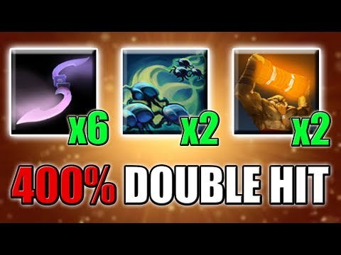Double Enchant Totem Glaive Hit [Dota 2 One Shot in Action] Ability Draft