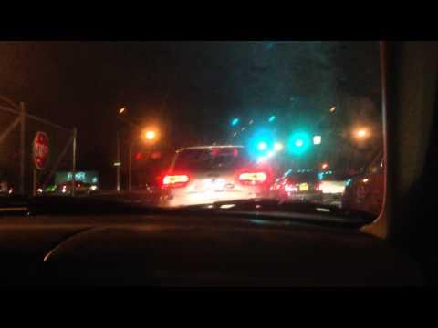 Car Horns Leaving Nassau Coliseum after Islanders Win 11/11/14
