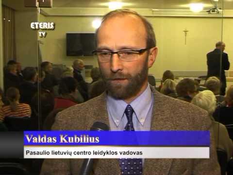 """ETERIS TV 2012.11.13 Lapkričio 7d. Birštone pristatyta knyga """"Medinė kryždirbystė"""""""