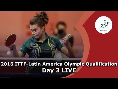 2016 ITTF-Latin America Qualification Tournament - Day 3