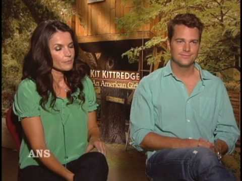 CHRIS O'DONNELL AND JULIA ORMOND ANS ENTERTAINMENT INTERVIEW
