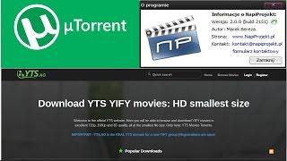 Krok po kroku jak ściągnąć filmy w HD, FullHD ( + napisy ) przez u Torrent ZA DARMO