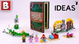 LEGO IDEAS Pop-Up Book Review!   Set 21315