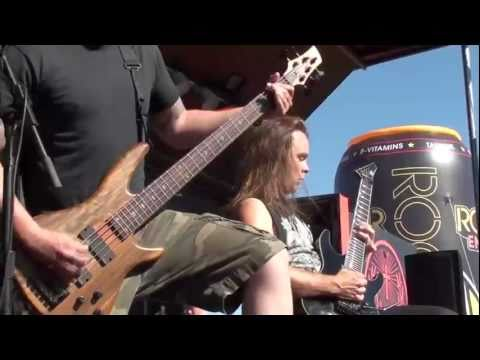 UNEARTH LIVE Rockstar Mayhem 07/15/2011 Phoenix AZ high definition 2 camera Full 3 song Set