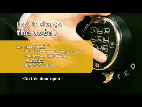 Browning Safe Change battery + code