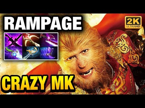 Ana IMBA Monkey King RAMPAGE with 36 Kills Dota 2
