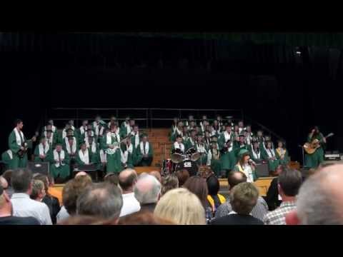"""Fort Kent Community High School Class of 2013 Senior Band Performing Boston's """"Piece of Mind"""""""