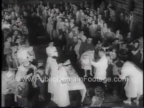 Children Receive Polio Vaccinations in Protection, Kansas PublicDomainFootage.com