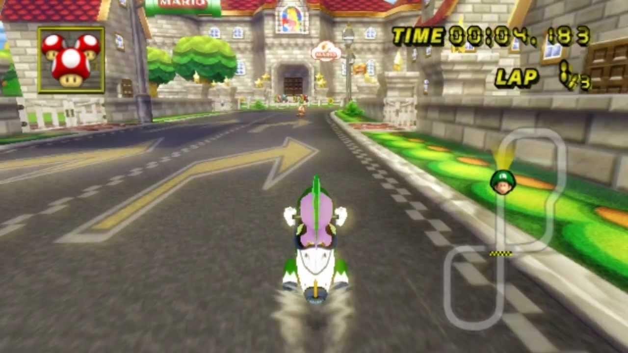 Mario Kart Wii Custom Characters Rainbow Dash Pinkie
