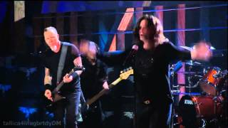 Metallica & Ozzy Osbourne - Paranoid (Rockn Roll Hall Of Fame 2009)