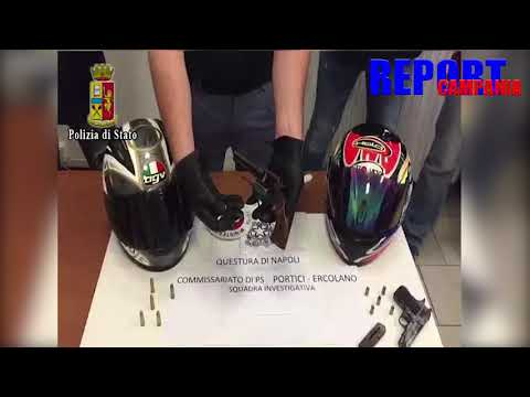 Portici. fermato 32enne in via Dalbono mentre nascondeva 2 pistole: arrestato