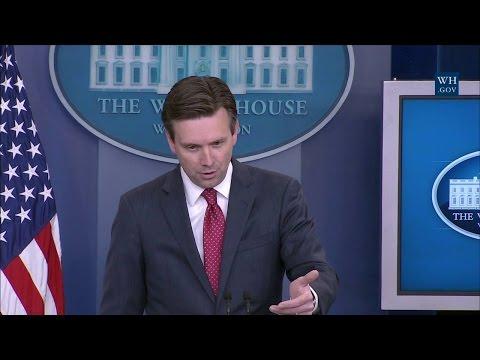 5/10/16: White House Press Briefing