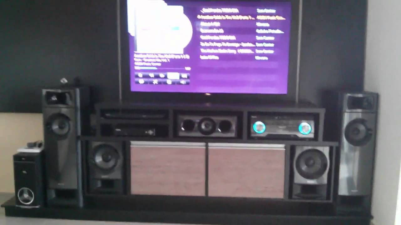 Receiver Sony Muteki Ht M3 5 2 Canais Home Theater Sony