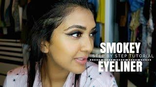 Smokey Liner Tutorial | Vithya Hair and Makeup Artist