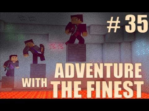 Minecraft Adventure with the Finest - Ep. 35 - Cave Hunting!