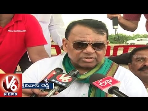 Minister Pocharam Srinivas: Telangana Govt Concentrate On Rice Planting Machines | V6 News