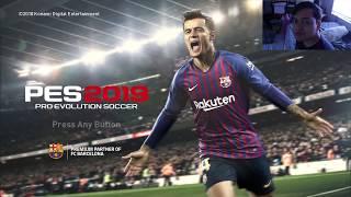 PERTANDINGAN PERDANA DAN LANGSUNG...... ||| Pro Evolution Soccer 2019 Demo