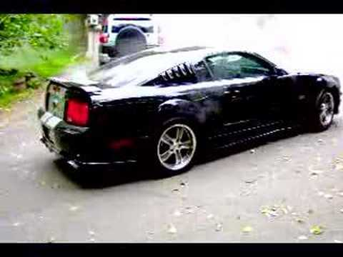 2005 Mustang GT Kenne Bell Supercharged Burnout 3