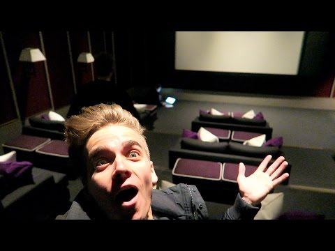 A PRIVATE CINEMA ROOM!?