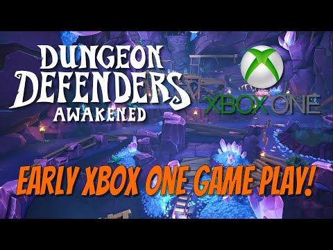 DDA XBOX ONE Early Gameplay! Ancient Mines Campaign!