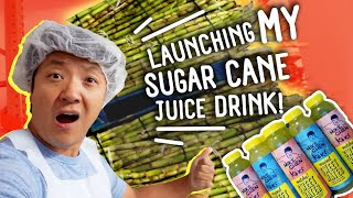 NOODLES DUMPLINGS & Launching My SUGAR CANE Juice Drink in New York!