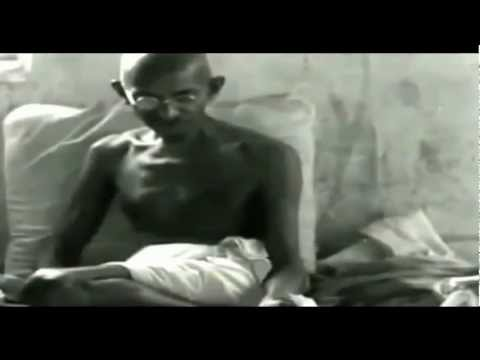 Mahatma Gandhi's first interview