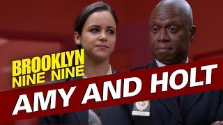 Amy and Holt | Brooklyn Nine-Nine
