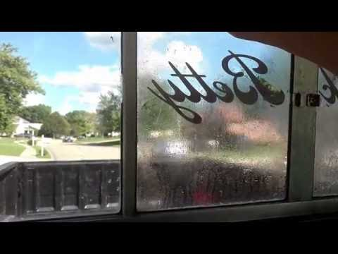 How To Remove Window Tint Adhesive