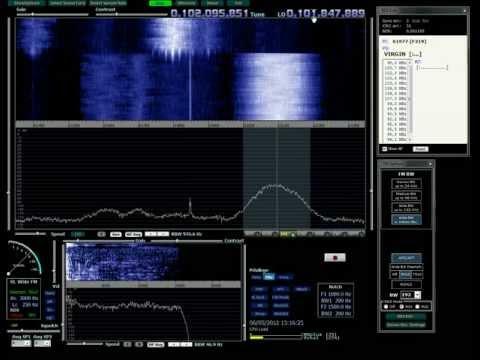 RTL2832 SDR + WRPLUS : WFM test