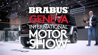 Visit BRABUS at Geneva International Motor Show 2019!