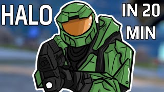Halo Combat Evolved In 20 Minutes (4K)