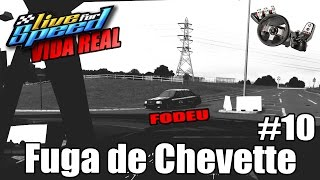 Live For Speed -💥Vida Real #10 - Fuga da policia de Chevette Turbo (G27 mod)