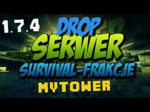 Minecraft 1.7.4 - Najlepszy Polski Serwer (Survival+Frakcje/Gildie+Drop) NON PREMIUM