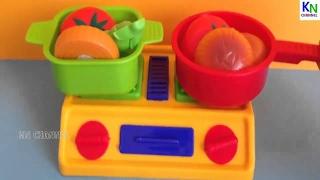 Đồ chơi trẻ em - Con dao thần kỳ, Bộ đồ chơi làm bếp cho bé