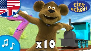 Numbers Song 10 times - Nursery Rhyme Collection for children - tinyschool