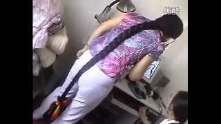 Video Very Beautiful Long Hair Girl Want to Shave Bald
