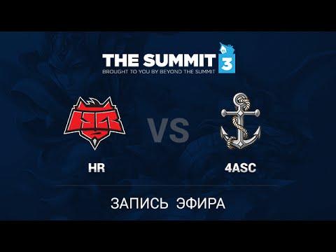 HellRisers vs 4Anchors, The Summit 3 EU Qual #1, Game 3