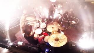 SAINTS OF DEATH Christopher James - Watching Me Die [DRUM CAM]