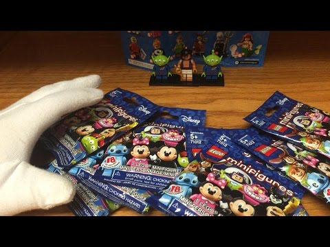 LEGO Disney Series Minifigures Blind Bag Opening & Review (9 packs) Awesome Pulls!!
