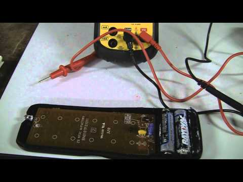Using A Multimeter to check Ohms (resistance) Resistor Example