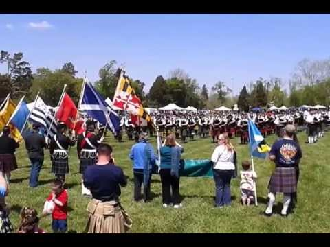 Scotland the Brave St Leonard, MD 2013