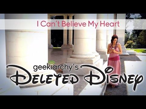 Deleted Disney: I Cant Believe My Heart Cover (Megara Hercules...