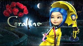 Doll Figurine CORALINE | Halloween | Ever After High | Monster High Repaint Ooak