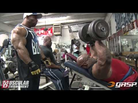 Ronnie Coleman And Cory Mathews | Chest Training video
