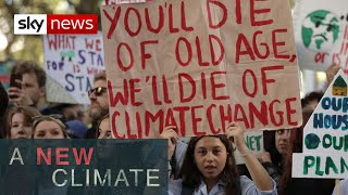 Protests over climate change in 139 countries | A New Climate